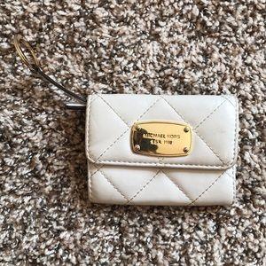 Michael Kors mini ID/ wallet keychain
